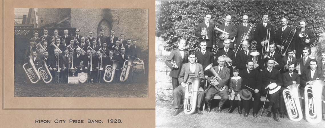 Ripon City Band 1928